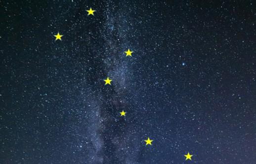 北極星 北斗七星